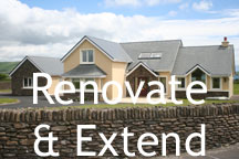 Renovating or extending your home in Dingle